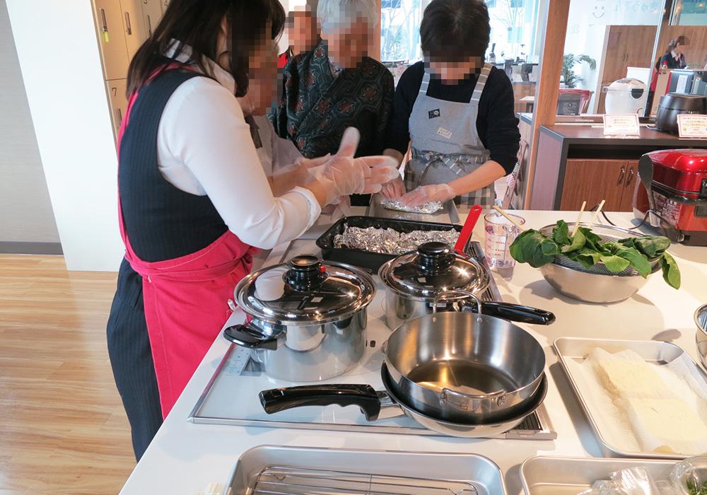カトーデンキ お仕事日記 料理教室を開催しました!