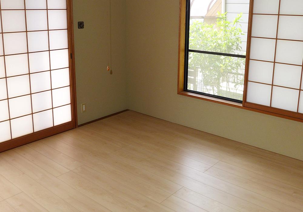 カトーデンキ お仕事日記 和室の畳をリフォーム