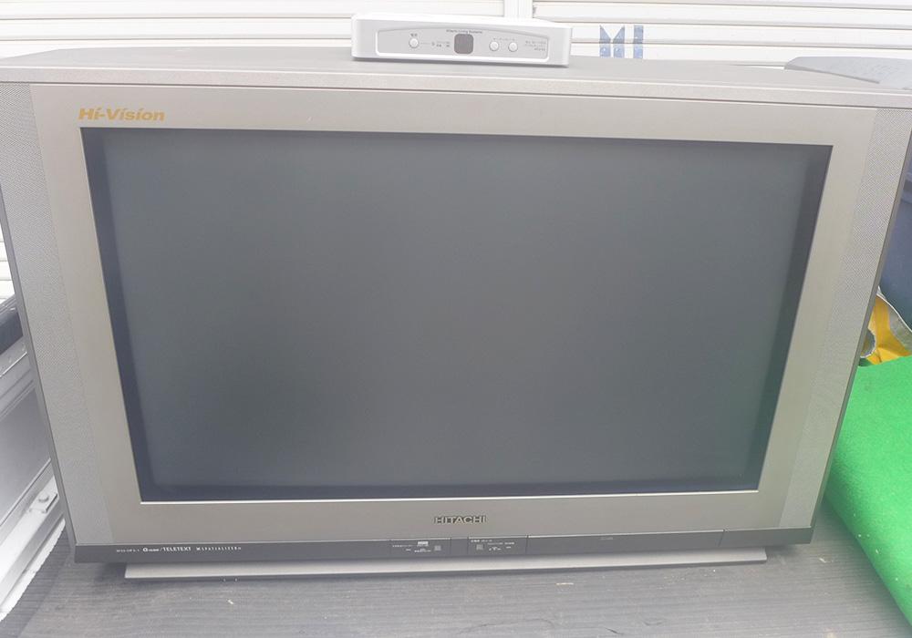 カトーデンキ お仕事日記 ブラウン管テレビを買い替え