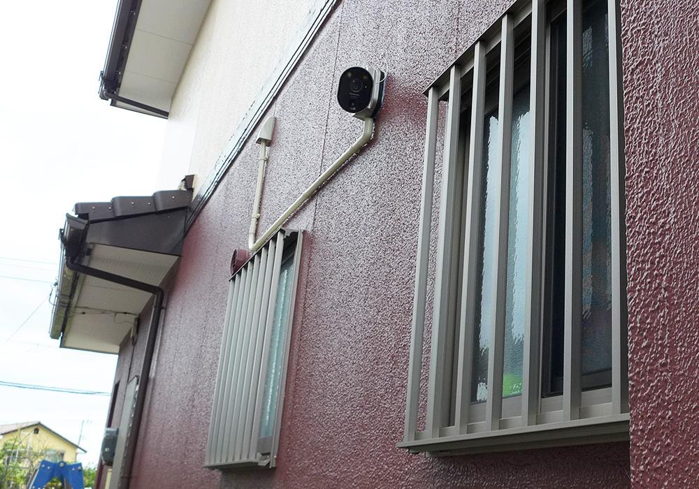 カトーデンキ お仕事日記 防犯カメラ・インターホンの設置