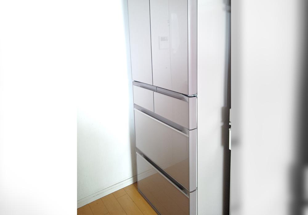 カトーデンキ お仕事日記 冷蔵庫の納品